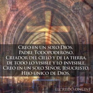 Oración de el credo