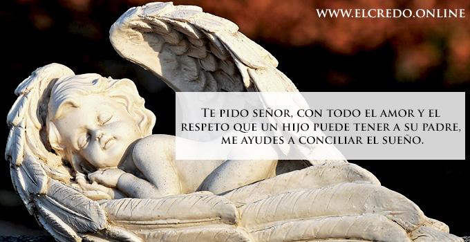 ángel católico descansado
