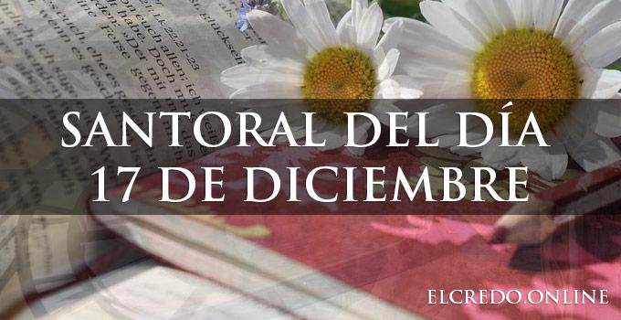 Santos católicos del mes de diciembre