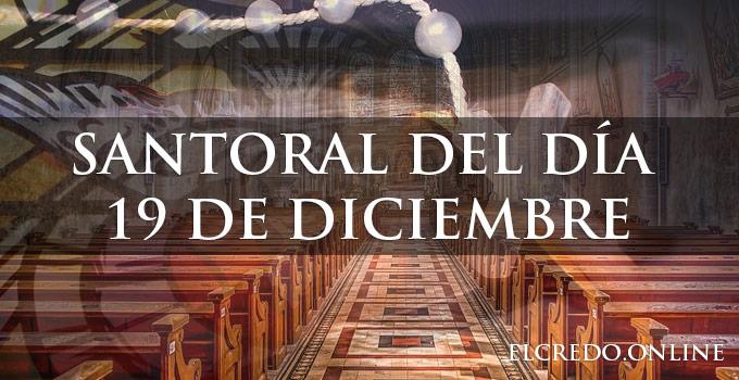 Santos del 19 de diciembre