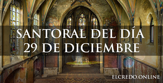 santoral catolico diciembre