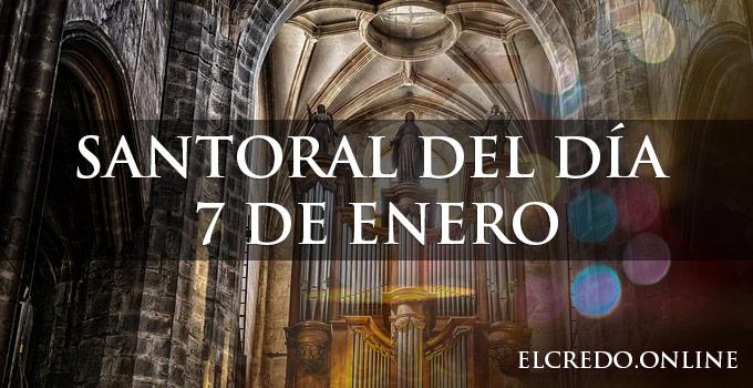 calendario santoral del mes de enero