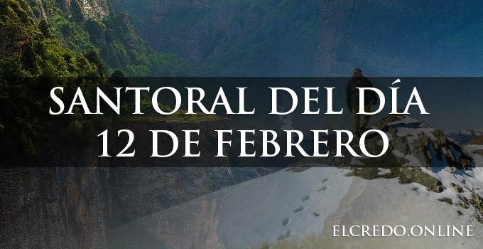 Semanal católico del día de 12 febrero